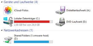 BitLocker in Vmfusion 7 unter Windwos 8