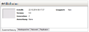 Details neue VM 2. Generation in Hyper-V