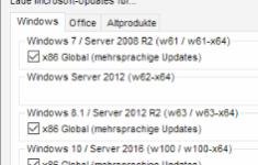 WSUS Offline Updater