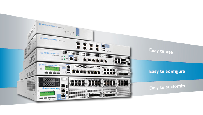 GateProtect Firewall von Rohde & Schwarz