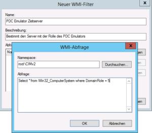 WMI - PDC Emulator
