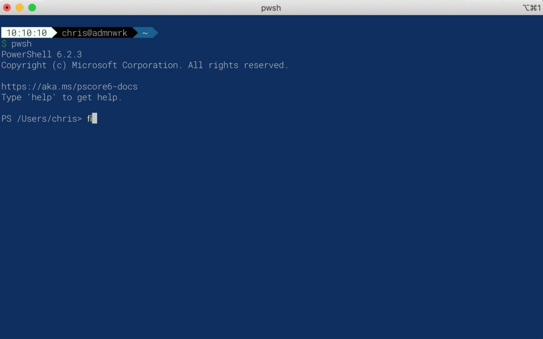 Powershell am Mac